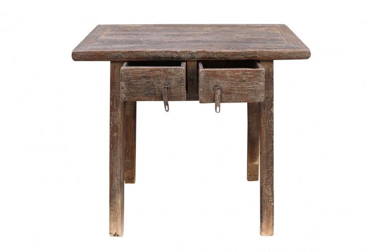 Petite Lily Interiors Console table vintage w/ 2 drawers - L95x55xh88cm - unique piece