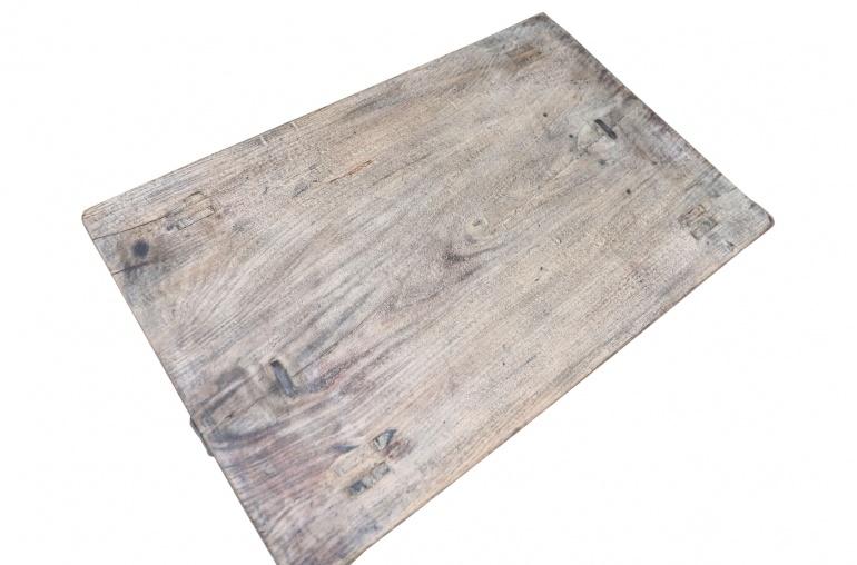 Snowdrops Copenhagen Table basse KANG - Bois d'orme- L80x50xH25cm - pièce unique