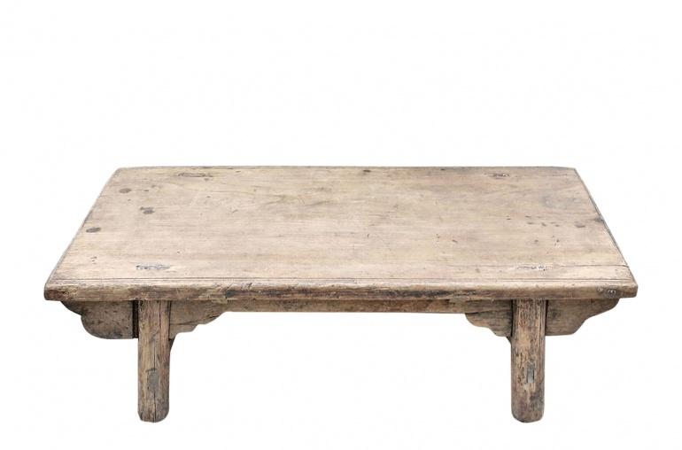 Snowdrops Copenhagen Coffee table KANG - Elm wood - L93x51xH28cm - Unique piece