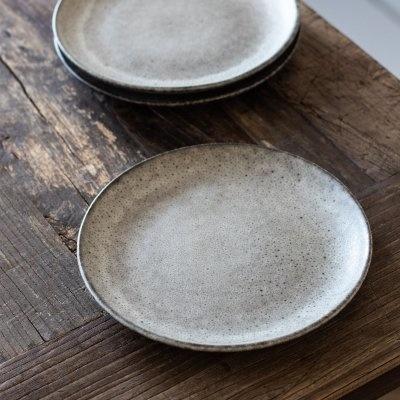 Tell me more 6 Assiettes dessert grès 'Bon' style Ethnique - Ø26,5cm