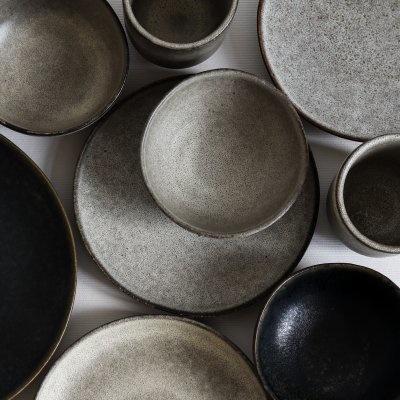 Tell me more Lot de 6 bols grès 'Bon' style Ethnique -Ø11xH5cm