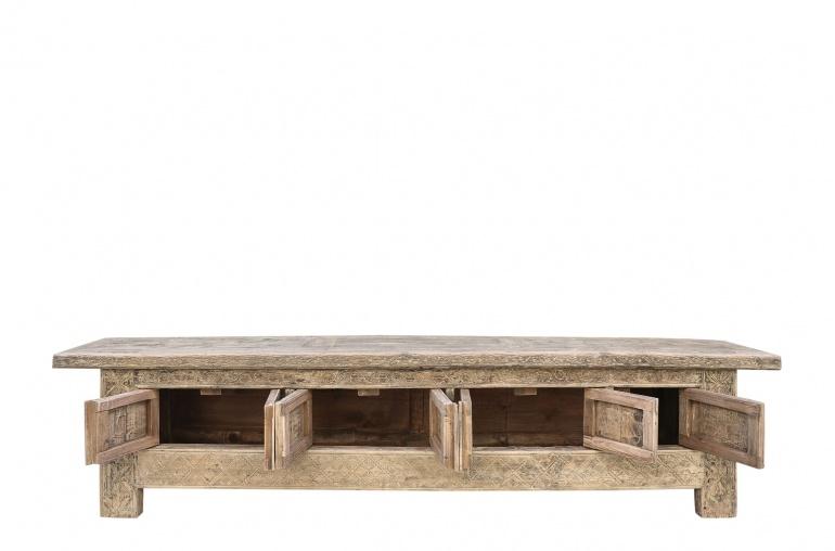 Petite Lily Interiors Sideboard vintage - naturel - 280x45xh63cm