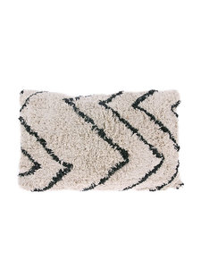 Petite Lily Interiors Cushion Berber - creme/black - 40x60cm