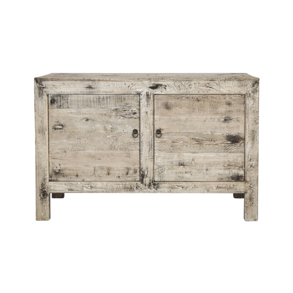 Snowdrops Copenhagen Sideboard elm wood - 130X45X80H - unique item