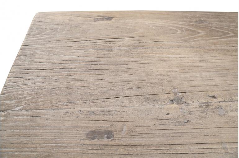 Petite Lily Interiors Table console vintage en Bois d'orme - Piece Unique - L170x48xh83cm