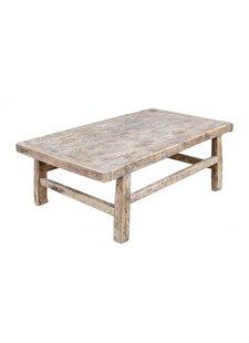 Snowdrops Copenhagen Table basse bois d'orme - 98x58xh38cm - pièce unique