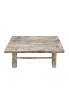 Snowdrops Copenhagen Coffee table Raw Wood - 74x46x28cm - unique piece