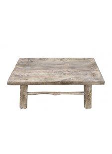 Snowdrops Copenhagen Table basse bois d'orme - 74x46x28cm - pièce unique