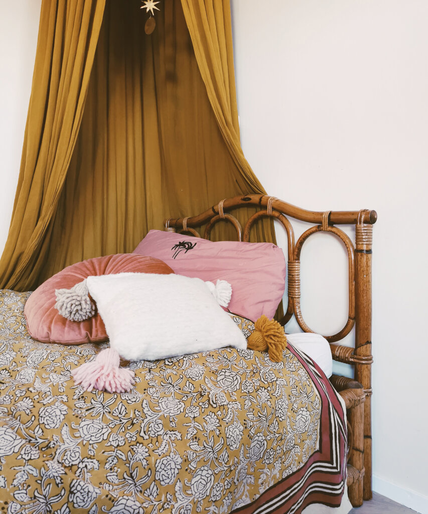 Petite Lily Interiors Indian Plaid/Throw handmade - 240x280cm