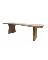 Petite Lily Interiors Dining room table soar wood  - 250-400cmx100xh76cm