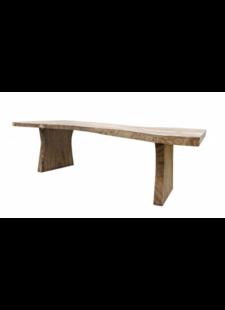 Petite Lily Interiors Table de salle bois - 250-400cmx100xh76cm