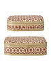 Bloomingville Set of 2 bamboo boxes - Natural / Red