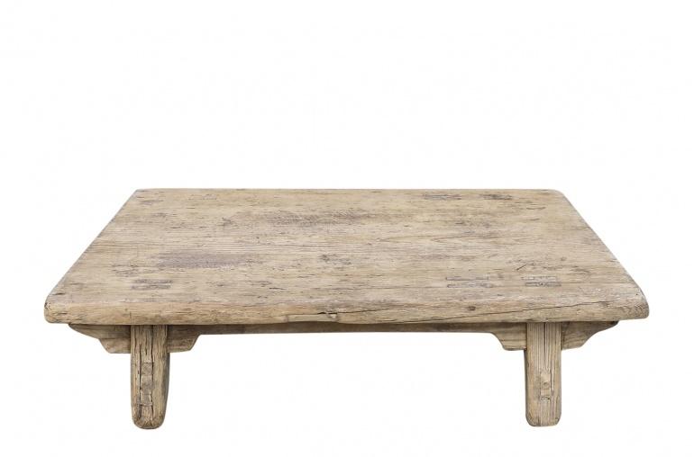 Snowdrops Copenhagen Coffee table KANG - elm wood - 81x58x25cm - Unique piece
