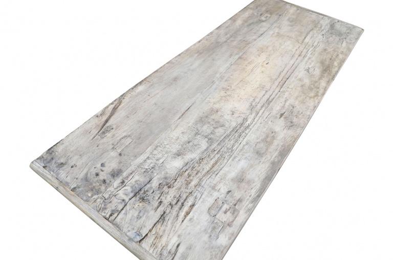 Snowdrops Copenhagen Table basse bois brut - 162x68xh44cm - pièce unique