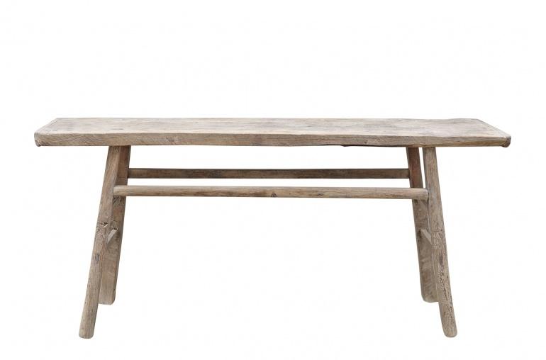 Petite Lily Interiors Console table Vintage - 174x37xh83cm - Elm wood - unique product