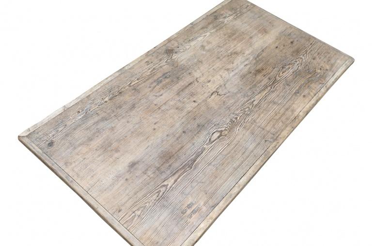Petite Lily Interiors Table basse bois brut - 113x61xh36cm - pièce unique