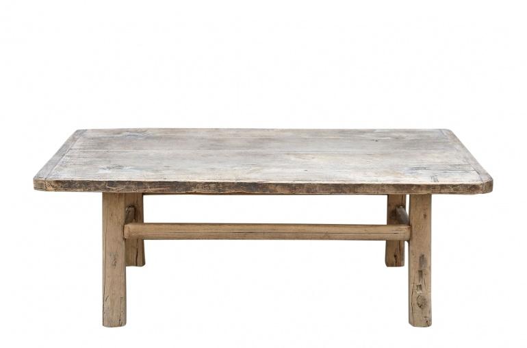 Petite Lily Interiors Table console vintage en Bois peuplier - 115x56xh44cm - Piece Unique