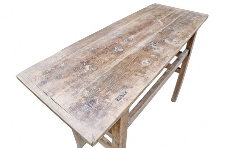 Petite Lily Interiors Console table Vintage - W118x44xh83 - Elm wood - unique product