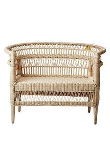 Affari of Sweden Malawi Bench in rattan - 120cm