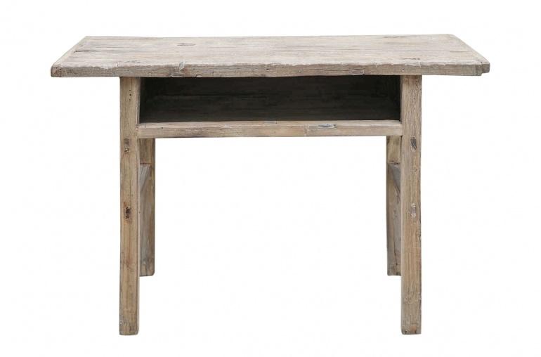 Petite Lily Interiors Console/desk vintage raw wood - L109x38xh74cm - unique piece