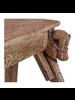 Petite Lily Interiors Console indienne Damachya  bois sculpté - 130x67xh79cm - pièce unique