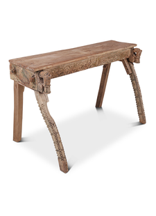 Petite Lily Interiors Indian console carved wood - 130x67xh79cm
