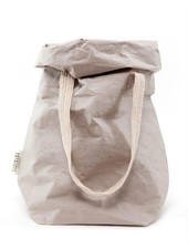 Uashmama Washable Paper Carry Bag 'Two' - Light Grey - Uashmama