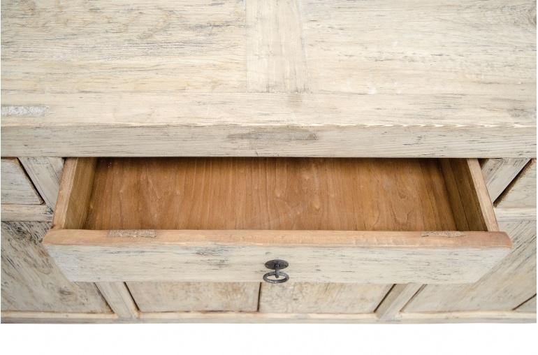 Petite Lily Interiors Buffet / Sideboard - naturel - L200xW45xH85cm - piece unique