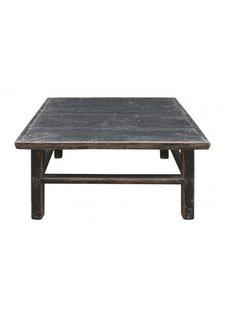 Petite Lily Interiors Coffee table Vintage - black - 87x84xh46cm