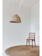 the dharma door  Lampe Suspension Tonga en fibres de palmier  -  Ø60-H40cm
