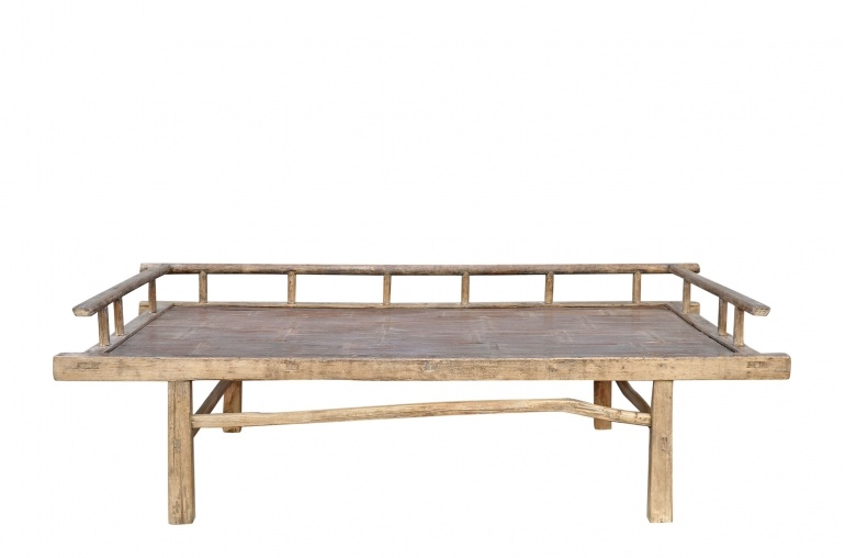 Petite Lily Interiors Raw wood Daybed - 201xW76xH60cm