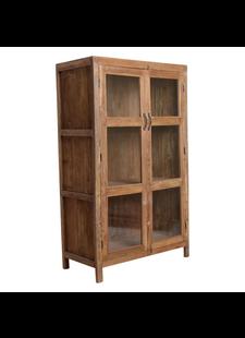 Petite Lily Interiors Cabinet - Natural - L94xH157xW48cm