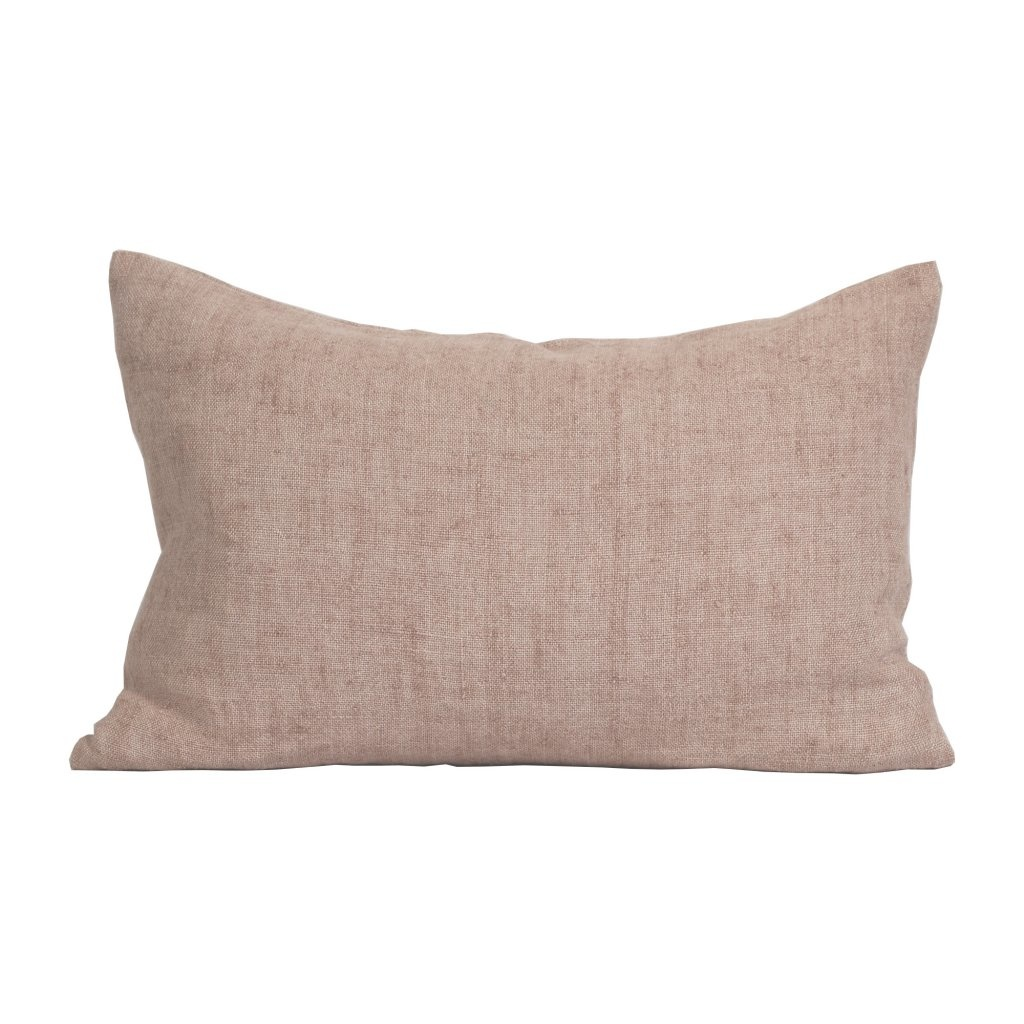 Tell me more Cushion cover 100% linen - Almond - 40x60cm - Tell Me More