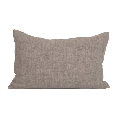 Tell me more Cushion cover 100% linen - Ash Grey - 40x60cm - Tell Me More