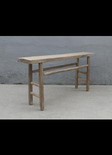 Maisons Origines Console table Vintage - 162X33Xh77cm - elm wood