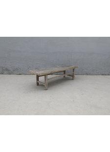 Maisons Origines Table basse bois d'orme - 160X50Xh45cm - pièce unique