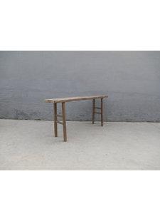 Maisons Origines Table console vintage en Bois d'orme - 178X36X83