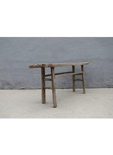 Maisons Origines Table console vintage en Bois d'orme - 170X40X82cm