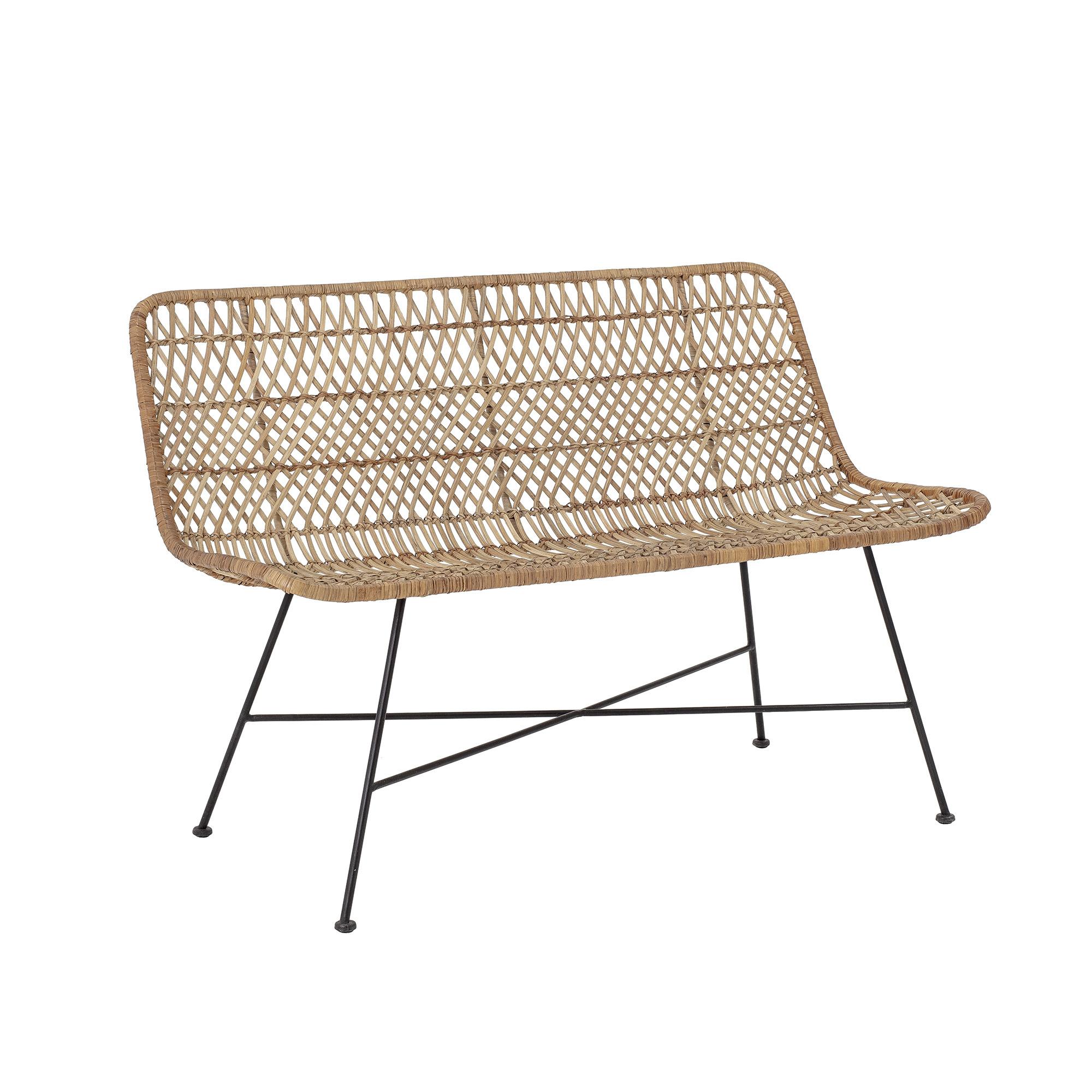 Bloomingville Rattan bench / Sofa - natural - 120cm - Bloomingville