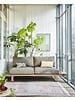 HK Living Outdoor sofa Chai - Aluminum - 220x84xh63cm