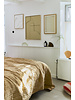 HK Living Couvre-lit -  jaune doux - velours - 240x250cm - HK Living