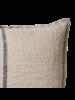Affari of Sweden Housse de coussin 100% lin - Gris Naturel - 40x60cm