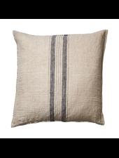 Affari of Sweden Cushion cover 100% linen - Natural- Grey - 50x50cm
