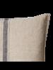 Affari of Sweden Housse de coussin 100% lin - Gris Naturel - 50x50cm