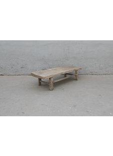 Maisons Origines Table basse bois d'orme - 120X43X30cm - pièce unique