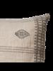 Affari of Sweden Cushion FERNANDO cover 100% linen - Natural- Grey - 50x50cm