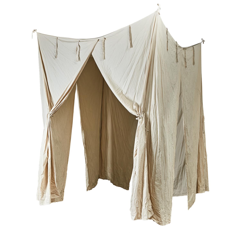 Canopy / baldachin - natural - 200x200xh250cm