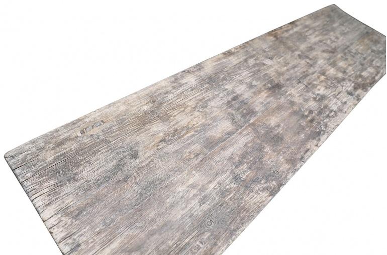 Maisons Origines Table basse bois brut - 210X56X45cm - pièce unique