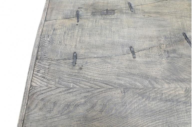 Maisons Origines Coffee table vintage Raw Wood - 194x79x45cm - unique piece
