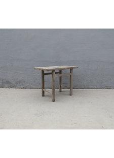 Maisons Origines Table console vintage en Bois d'orme - 107X54X79cm